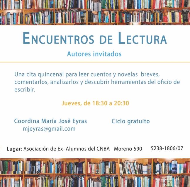 Encuentros de Lectura 2017
